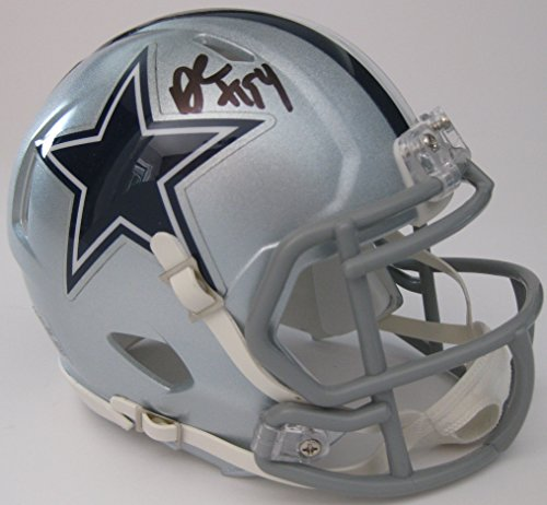 Demarcus Ware, Dallas Cowboys, Signed, Autographed, Football Speed Mini Helmet, a COA with the Proof Photo of Demarcus Ware Signing Will Be Included