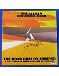 Gregg Allman Signed Brothers Band The Road Goes On Forever Album PSA DNA Z97979