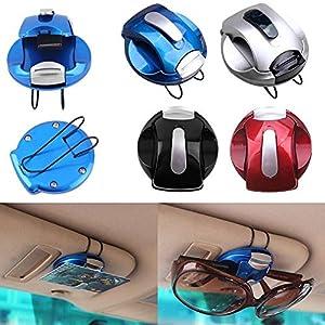 NPLE--Car Sun Visor Sunglasses Eye Glasses Card Pen Holder Clip Car Vehicle Accessory