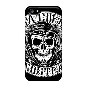 Iphone 5/5s KUu1133skhq Allow Personal Design High Resolution Dissection Band Skin Anti-Scratch Hard Phone Cases -TimeaJoyce