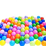 toyofmine Ocean Balls Baby Kid Swim Pit Toy Colorful Soft Plastic Bulk Pack (50-1000 pcs)