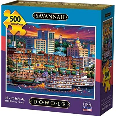 Dowdle Jigsaw Puzzle - Savannah - 500 Piece: Toys & Games