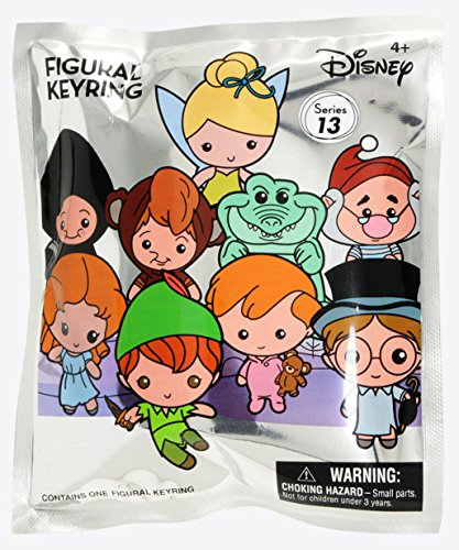 Disney Peter Pan 3D Collectible Key Ring Blind Bag Key Accessory -
