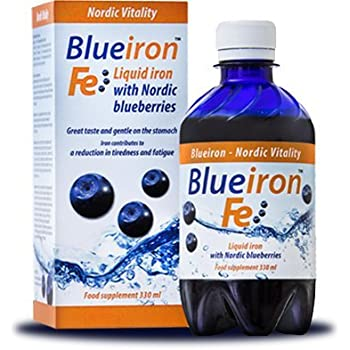 Liquid liposomal iron supplements