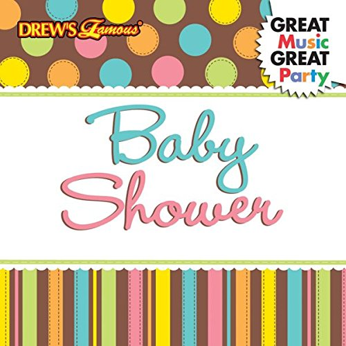 Amscan Drew's Famous Baby Shower Whoo Loves You Music CD Plastic 4'' x 5'' Multimedia Supplies (6), 6 Pieces