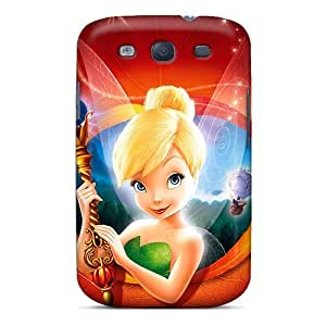 New Premium Flip Case Cover Tinker Bell Skin Case For Galaxy S3