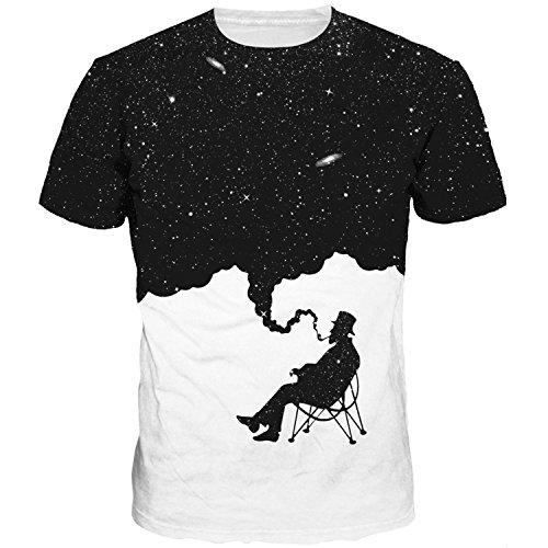 FashionHoodie.W Unisex 3D Funny Creative Short Sleeve T-Shirt M-XXXL
