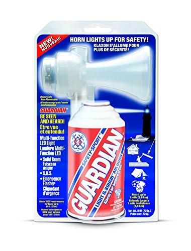 SAFETY-SPORT GUARDIAN LIGHT & SOUND AIR HORN (Horn Sound Air)