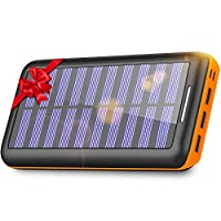 Power Bank Solar Portable Charger 24000m...