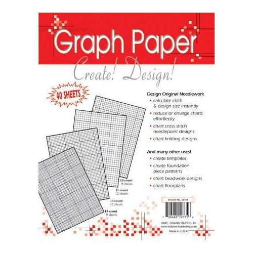 Crafters Helper Needlework Graph Paper - 40