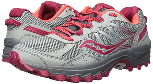 Tr11 Fitness Excursion Women''s Saucony Pnk gry Shoes Grey 1 1Z7w4qp