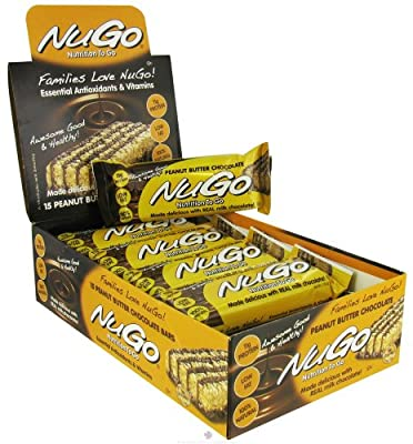 NuGo Nutrition - To Go Protein Bar Peanut Butter Chocolate - 1.76 oz.
