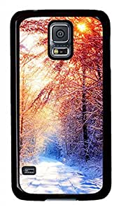 Winter 2 Black Hard Case Cover Skin For Samsung Galaxy S5 I9600 by Maris's Diary