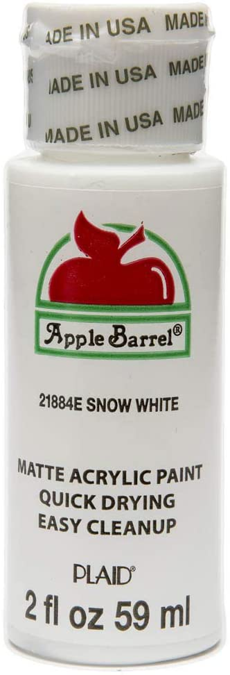 Apple Barrel Snow White Paint, 2oz