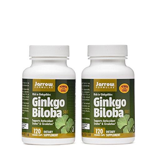 Jarrow Formulas Ginkgo Biloba Vegetarian