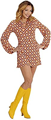 WIDMANN Disfraz groovy retro años 70 mujer M: Amazon.es: Juguetes ...