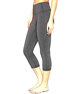 b51e3fc0f2 Lucy Women's Perfect Core Capri Leggings, Asphalt Heather (XX-Small)