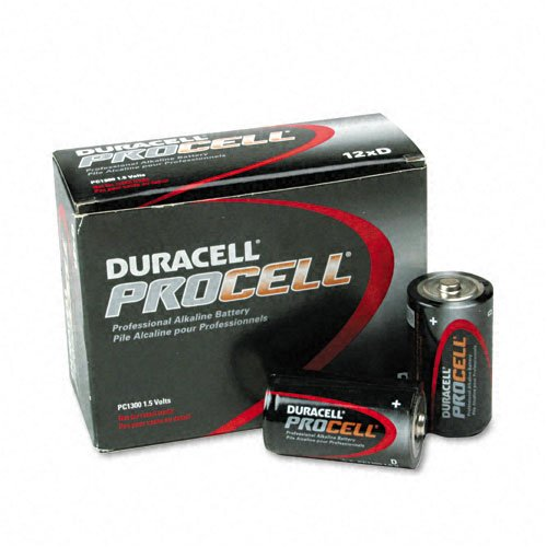 Duracell : Procell Alkaline Battery, D, 12/Box -:- Sold As 2 Packs Of - 12 - / - Total Of 24 Each D Cell