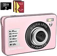 1080P Digital Camera 30MP Camera Compact Camera 2.7 inch Pocket Camera,8X Digital Zoom Rechargeable Small Digi