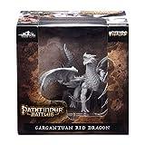 WizKids Pathfinder Battles: Deep Cuts Unpainted Miniatures: Gargantuan Red Dragon (WZK73144)