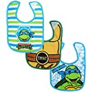 Nickelodeon 3 Piece Bib Set, Ninja Turtles