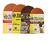 Honey Stinger Waffles Mixed 18 Count w/ MST Cordygen Nano2 Trial Pack