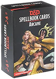"Gale Force Nine GF973915"" Dungeons and Dragons Spellbook Cards Arcane"