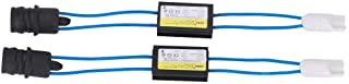 Duokon 2 pièces Décodeurs Canbus Résistance de Dispositif de Décodeur Sans Erreur de Phare Matériau ABS Adaptateur D'annulation D'annonce D'avertissement T10 LED