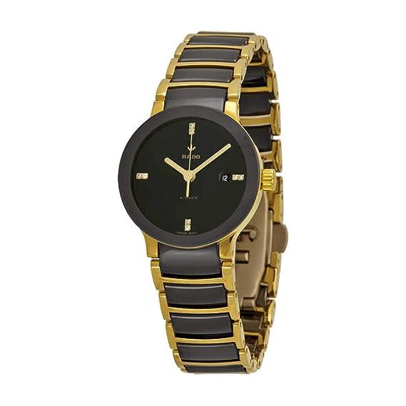 Rado Sintra automático Negro Dial Negro Cerámica Reloj para hombre r30034712: Rado: Amazon.es: Relojes