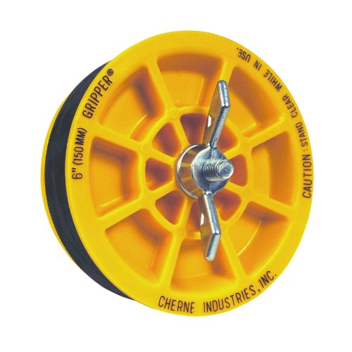 Oatey 270261 Cherne Gripper 6-inch End of Pipe Plug - Wing Nut Refill