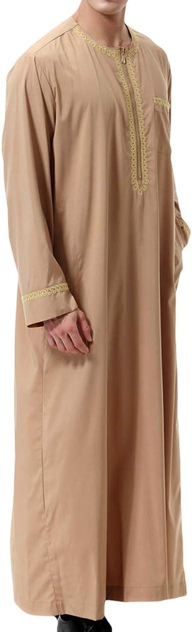 Hombre Musulmán Kaftan Medio Oriente Saudita árabe Vestidos ...