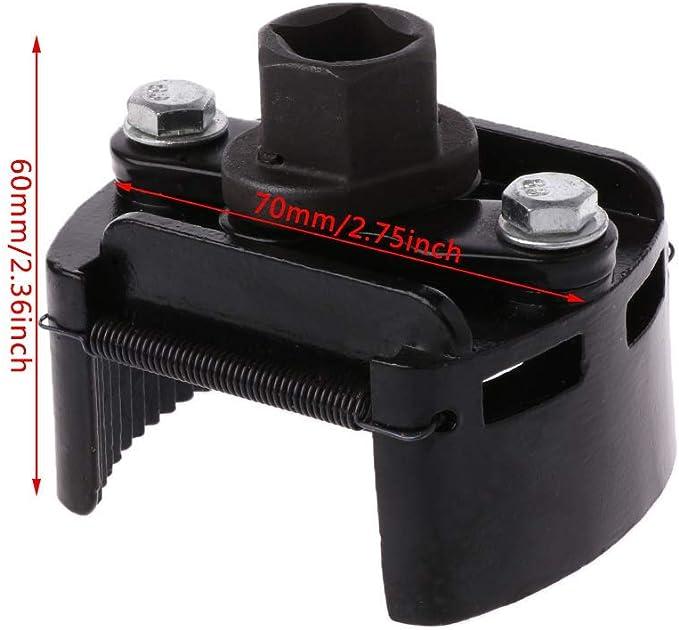 Dedc Ölfilterschlüssel Verstellbar Universal Remover Kit Werkzeug Für Auto Motorrad 60 80mm Auto