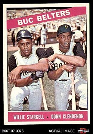 Amazoncom 1966 Topps 99 Buc Belters Willie Stargelldonn