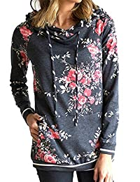 onlypuff Women's Lightweight Casual Pullover Hoodies Sweatshirts
