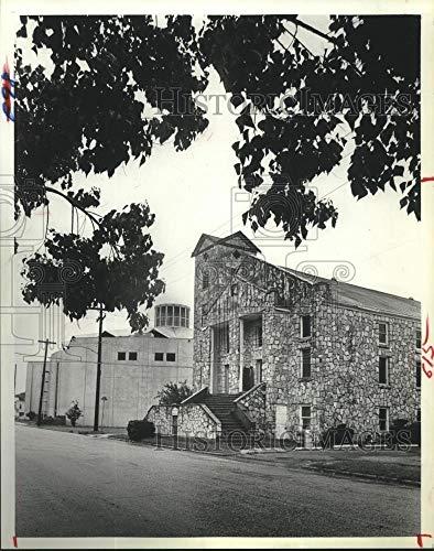 Vintage Photos 1981 Press Photo Pleasant Grove Missionary Baptist Church Sanctuary in Houston