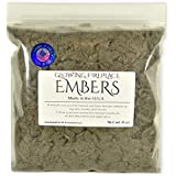 Gas Fireplace Glowing Embers, Rock Wool for Vent Free or Vented Gas Log Sets, Inserts and Fireplaces. Large Bag 4 oz