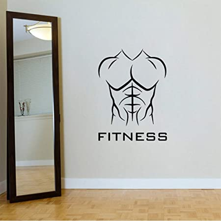 Autocollant De Sport Body Athletic Fitness Iron Gym Sport Stickers