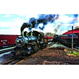 At the Trainyard 1000 pc Jigsaw Puzzle