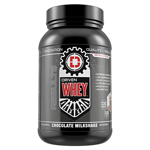 Cheap DRIVEN WHEY- Grass Fed Whey Protein: The superior tasting whey protein powder- recover faster, boost metabolism, promotes a healthier lifestyle (Chocolate Milkshake, 2 lb)