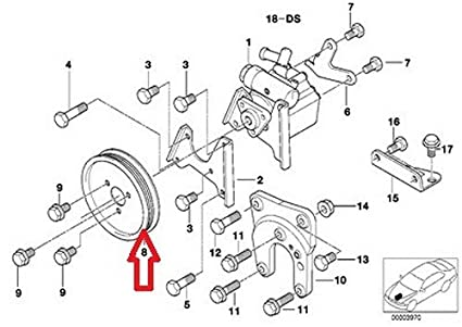 Amazon Com Bmw Pulley