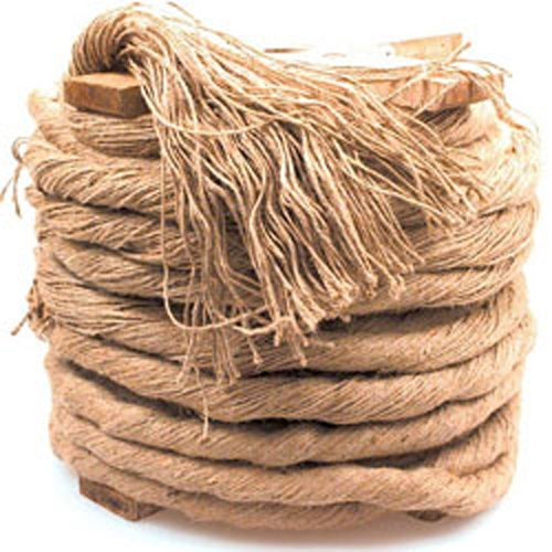 Twine - Jute Twine - Natural Color - 75000', 1500' Ft/Lb, 27 lbs Tensile, 50# Reel (1 Reel) - CWC-048195 by Miller Supply Inc