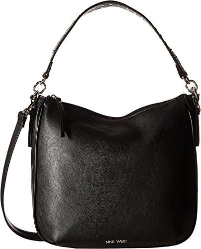 nine-west-womens-morna-black-studded-strap-handbag