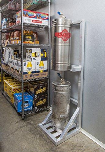 DeVault Enterprises DEV7000 Keg Rack, Beer Keg Storage