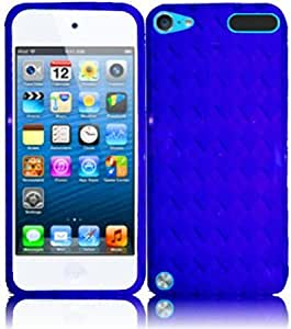 Bloutina For Apple Iphone 5 5G 6th Gen Accessory TPU Cover Case Blue