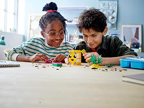 LEGO- Dots Portapenne Decora i Pannelli dell'Ananas e della Piccola Scatola Anguria ed Esponi Le tue Creazioni, Set di… 7 spesavip