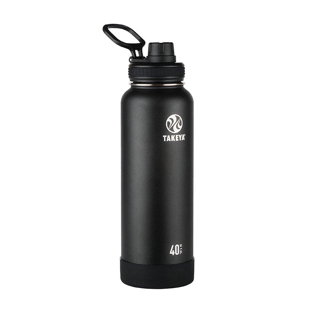 Takeya 51000 Trinkflasche Unisex Erwachsene, Onyx