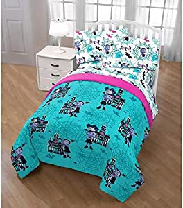 Amazon.com: 4pc Vampire Twin Comforter Bed Set,Disney ...