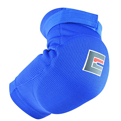 Combat Corner Muay Thai Elbow Pads Blue Small/Medium