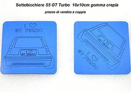 Posavasos GT Turbo conf.4 piezas