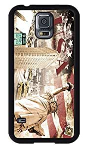 American the Statue of Liberty TPU Samsung S5 Case Designer Samsung Galary S5 Case Soft Silcon USA Black Cover by icecream design